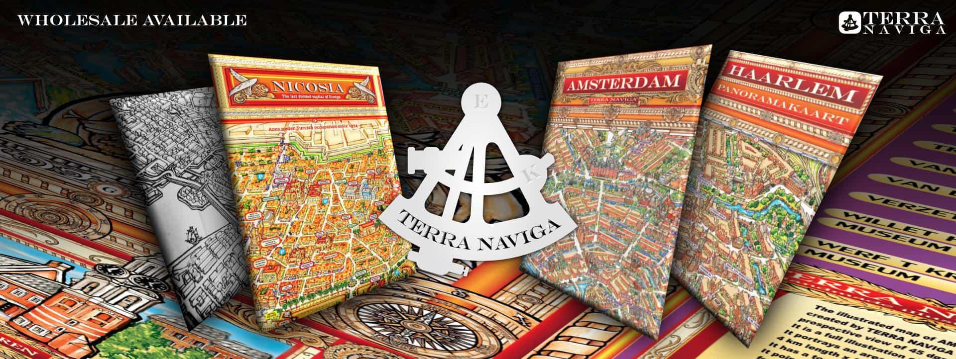 Terra Naviga Amsterdam Nicosia Map