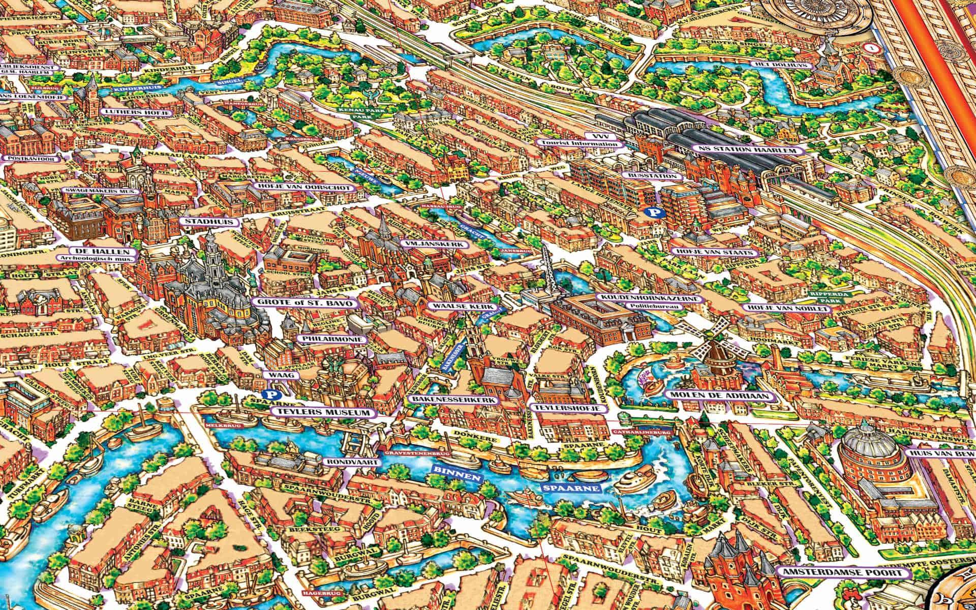 Haarlem Map