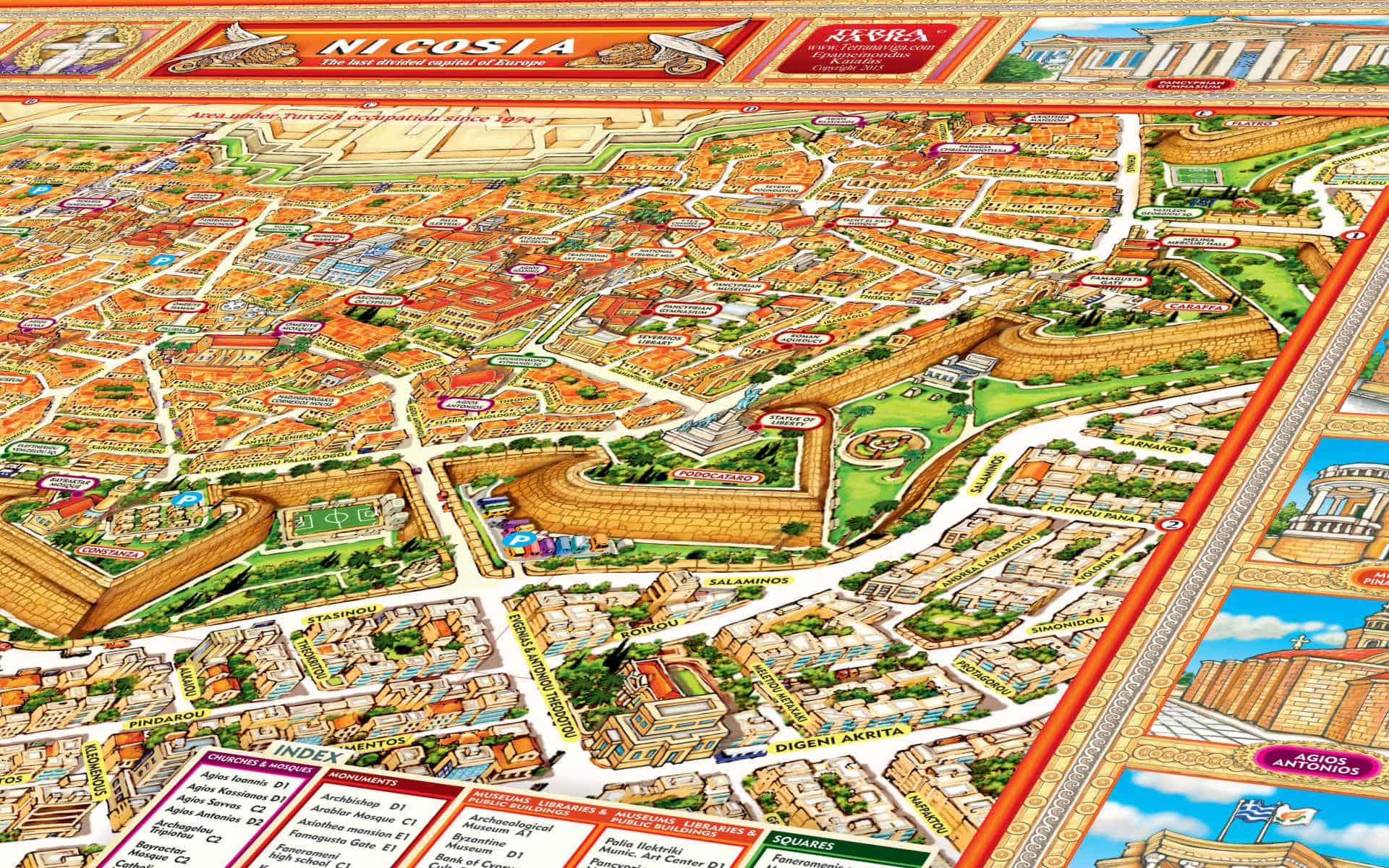 NICOSIA MAP